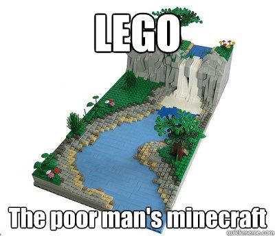 except Legos aren't cheap