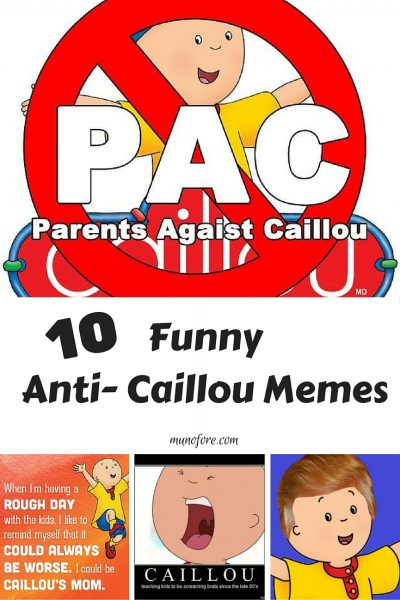 Caillou the Annoying - meme collection about Caillou. Annoying Caillou, Funny Caillou, Whiney Caillou, I hate Caillou