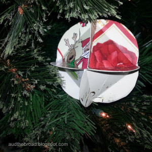 A few fun uses for old Christmas Cards