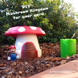 Mini Mushroom Kingdom Garden for Your Yard