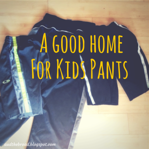 A good home for kids pants