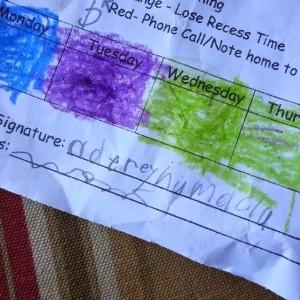 Quick memo to my son's teachers