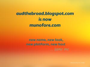 New name, new look, new platform, new host …same me