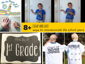 Cheap and Easy Ways to Commemorate the School Years
