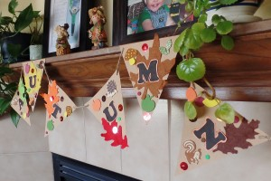 Fun (and Frugal) Fall Banner