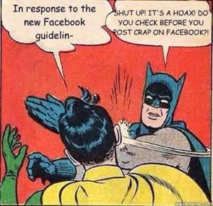 Facebook Privacy Settings Hoax Humor
