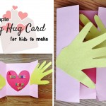 A Big Hug Card craft for kids