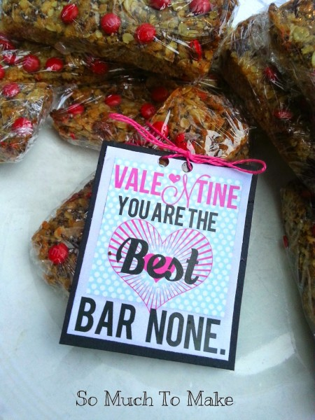 Valentines' Day printables from So Much to Make