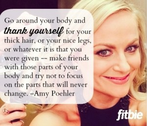6 Inspirational thoughts from Amy Poehler – Friday Frivolity