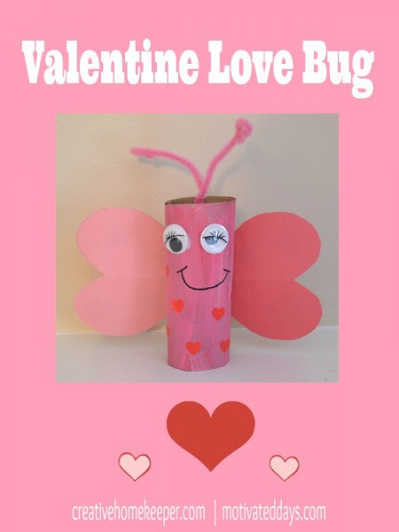 Valentine Love Bug from Samantha at Motivated Days