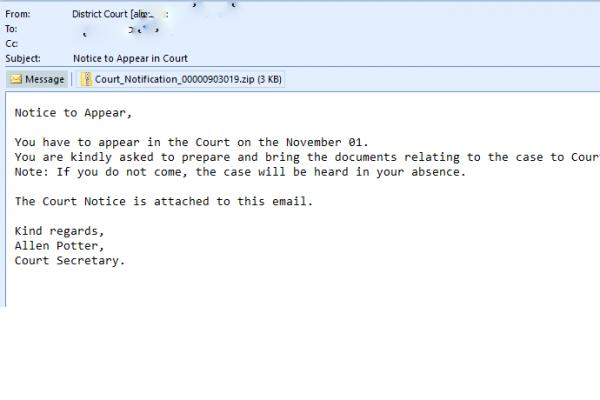 spam - district court