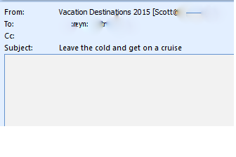 humorous SPAM e-mail