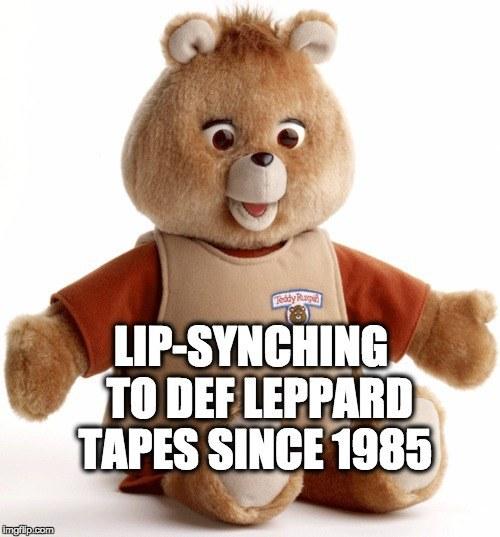 Teddy Ruxpin lip synch