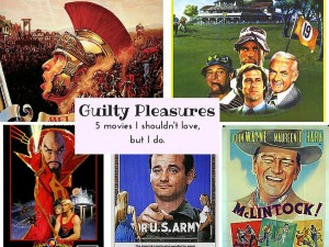 My Five Favorite Guilty Pleasure Movies plus Friday Frivolity Linky Party