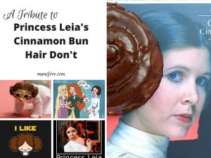 Crazy Hairstyles: Princess Leia Edition – Friday Frivolity Linky Party