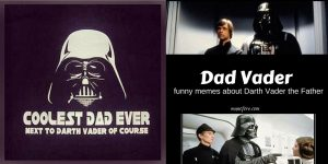 Happy Father's Day, Darth Vader! Friday Frivolity Link Party