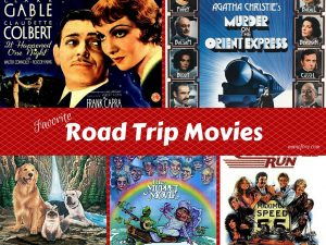 Fun Road Trip Movies plus Friday Frivolity Link Party