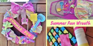 Summer Fun Beach Towel Wreath