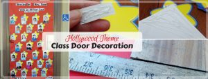 Hollywood Themed Classroom Door Decoration