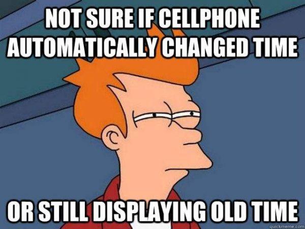 Time Change Facebook: 7 Funny Time Change Memes Plus Friday Frivolity