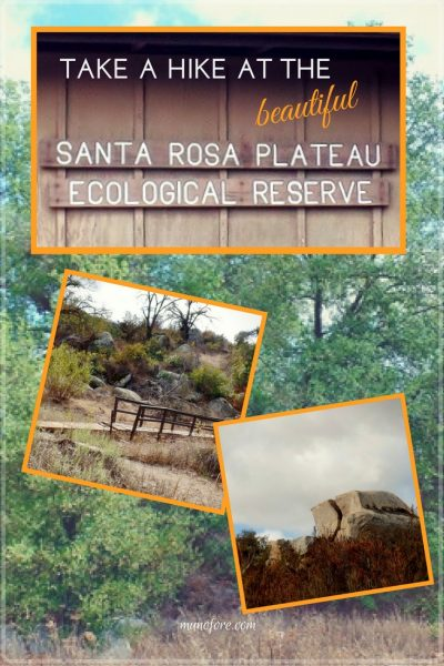 The Santa Rosa Plateau located near Murrieta, CA in the Santa Ana Mountains is a great place to hike and learn about California's history and native ecology