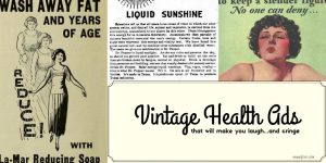 7 Vintage Health Ads to Make You Laugh (plus Friday Frivolity)