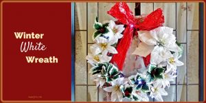 Get in the Holiday Spirit with This Winter White Wreath