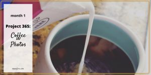 Project 365: Coffee Photos. The first month of a daily picture of morning coffee for a blogger.
