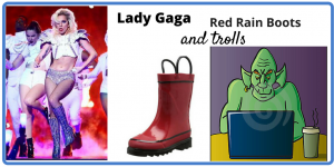 Valentine's Day: Lady Gaga, Red Rain Boots and Trolls on Friday Frivolity
