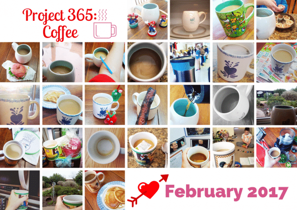 February 2017 project 365 coffee photos
