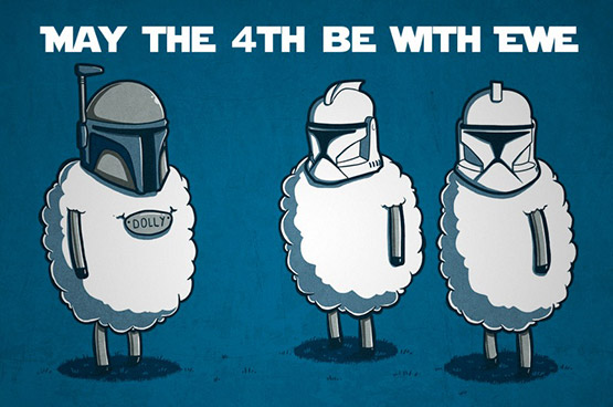 Happy Star Wars Day! May the 4th Be with You (Friday Frivolity)