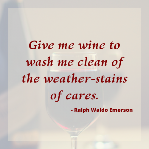 A collection of wine quotes from famous poets.