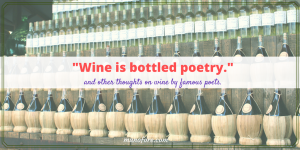 Favorite Wine Quotes from Famous Poets #FridayFrivolity