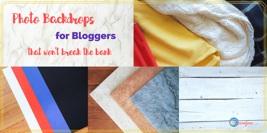 Free (or Cheap) and Easy Photo Backdrops for Craft and Food Bloggers