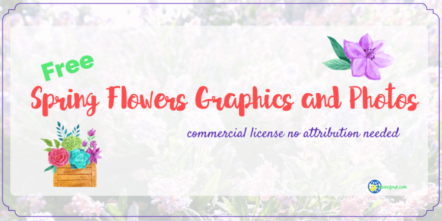 Welcome Spring with These Free Floral Graphics and Photos