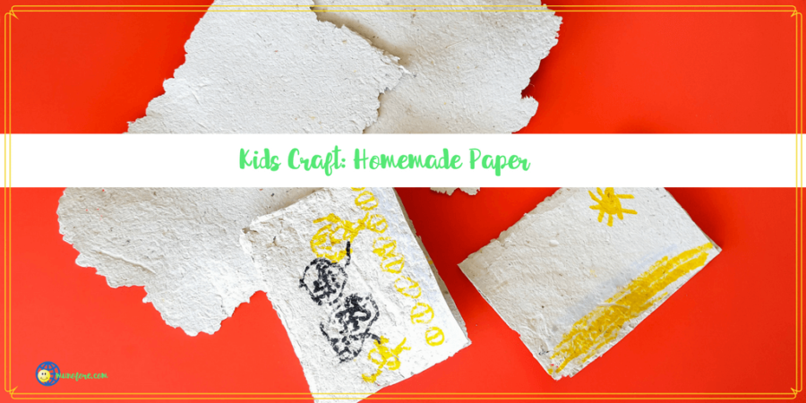 Homemade Paper: Fun and Easy Craft for Kids of All Ages