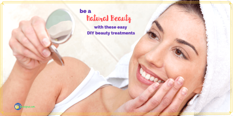 Easy Homemade Natural Beauty Treatments from Head to Toe