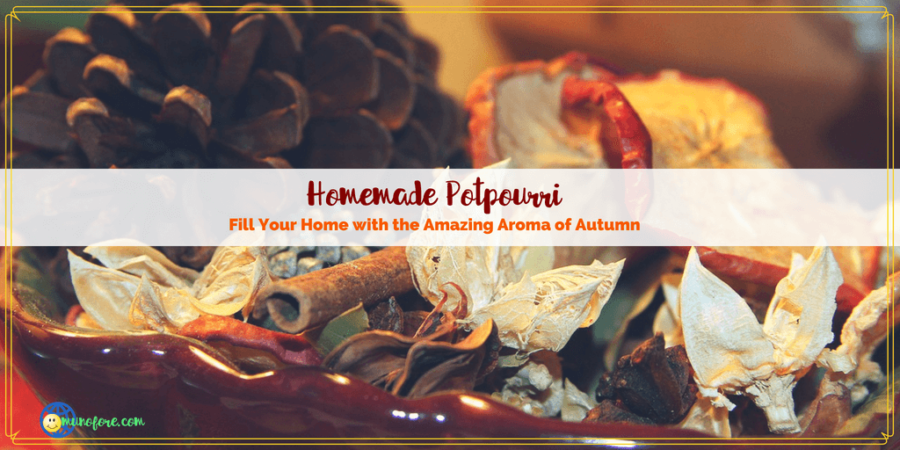 Help Your Home Smell Fabulous this Autumn with Homemade Potpourri