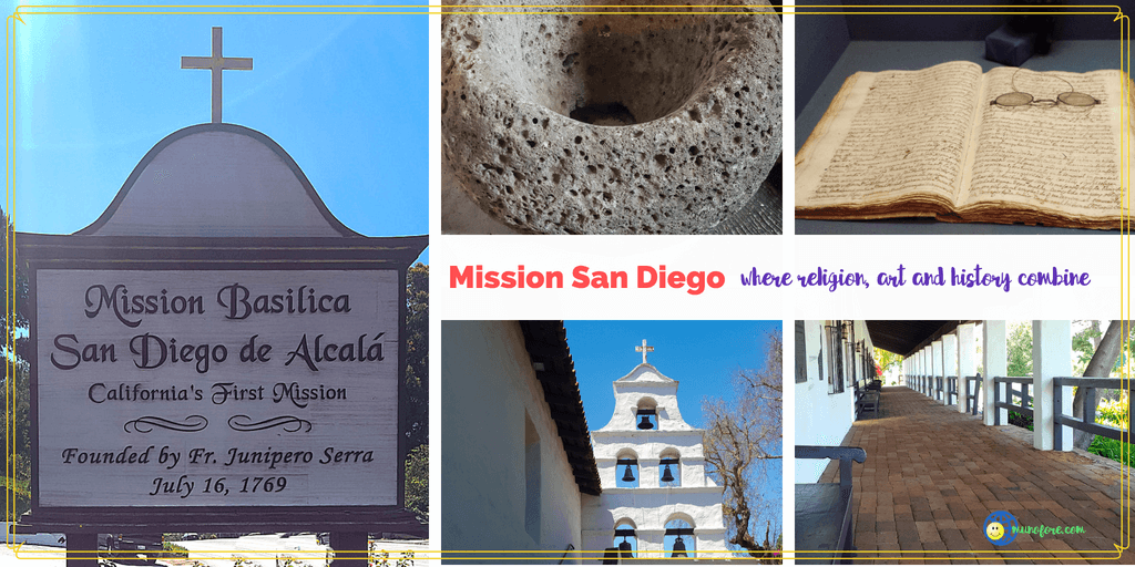 Mission San Diego: Where Religion, Art and History Combine