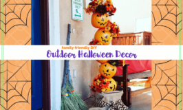 Get in the Spirit DIY Family Friendly Outdoor Halloween Decorations