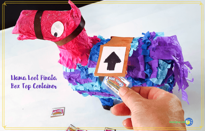 Llama Loot Pinata Box Top Collection Box Makes BTFE Collecting Fun