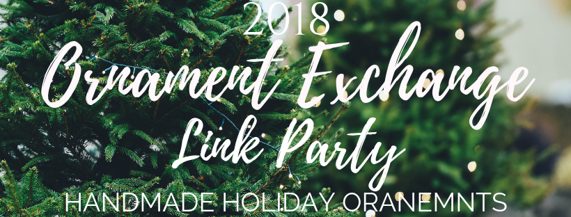 Ornament Exchange Link Party Graphic